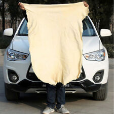 Natural Chamois Leather Auto Car Clean Cloths Wash Suede Absorbent Towel 40*70cm