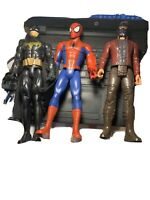 "12"" Avengers: Infinity War Star-Lord Batman SpiderMan Figure Lot"
