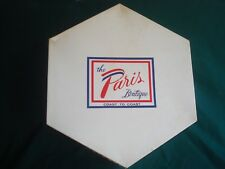 """17"""" Vintage Paris Octagonal Hat Box, Storage, Belts, Scarves, Purses, Ornaments"""