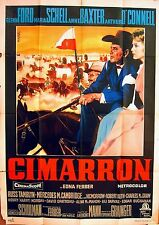 CIMARRON 1960 Glenn Ford, Maria Schell, Anne Baxter, Arthur O'Connell ITALIAN