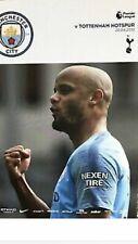 Man City FC v Tottenham Hotspur FC Programme (Season 2018-2019)
