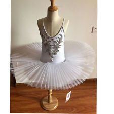 Children's Swan Costume Kids Ballet Dance Costume Stage Professional Tutu Dress