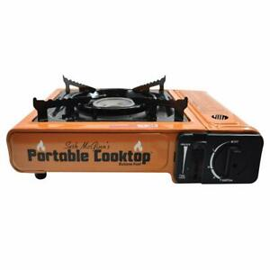 CanCooker SMBB-6879 Portable Butane Electric Ignition Cooktop with Storage Case