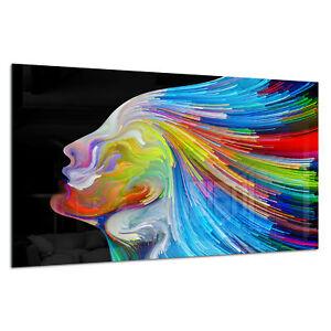Photo Print Wall Art Picture Tempered Glass Colour Surreal Human Prizma GWA0363