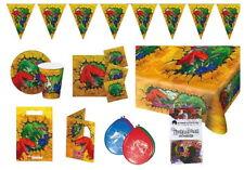 Dino Partypaket Dinosaurier 49-teilig Kinder Geburtstag Kinderparty