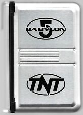 1998 Unused Babylon 5 Aluminum Organizer Planner Promo from Tnt Network