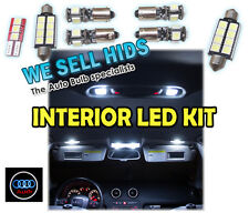 AUDI INTERIOR ROOF INTERIOR LED KIT A4 A3 A6 Q7 TT 6000K 9pc RS4 S3 sline white