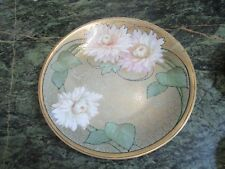 RS GERMANY ANTIQUE PLATE FLORAL [*128}