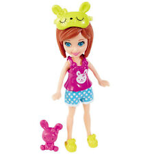 Polly Pocket 9.5cm Doll and Accessory: Sleepover Slumber Party LILA (BCY70)