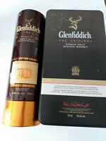Collectible Glenfiddich Single Malt  Whiskey Tins - 2 Pieces - one with booklet