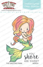 The Greeting Farm - Merisa Mermaid Clear Stamps