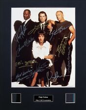Pulp Fiction Signed Photo Film Cell Presentation