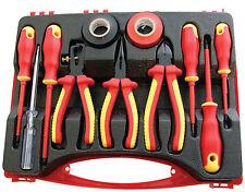 11pc Kit d'outils pour électriciens électriques 1000v AC et 1500v DC