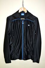 ADIDAS ORIGINALS SHINY 70s STYLE CASUALS RETRO TRACK JACKET TRACKSUIT TOP size M