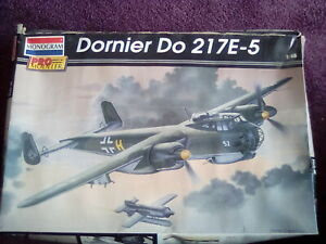 Monogram Pro-modeler 85-5954, Dornier Do217 E-5 Bomber ,   1/48 scale model kit