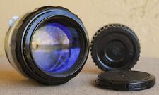 Nikon Nikkor H 85mm F1.8 telephoto portrait lens EXC+ circa 1970 w Kogaku Cap
