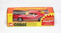 Corgi 391 James Bond Ford Mustang Mach 1 In Its Original Box - Near Mint 007