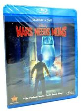Mars Needs Moms (Blu-ray+DVD, 2011, 2-Disc Set) NEW