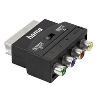Hama Video Adapter Scart / YUV + Video-Cinch In/Out RGB auf Component vergoldet