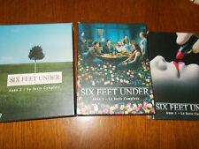 LOTTO 3 DVD COFANETTI SIx FEET UNDER ANNO 1 2 3 -  STAGIONE 1 2 3      15 DISCHI