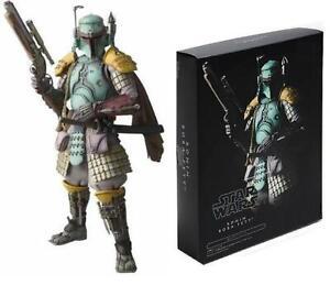 """Star Wars Ronin Boba Fett Meisho Realization Samurai 7"""" Figure Bandai 23"""