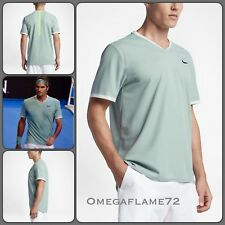 Nike court Roger Federer Dry Advantage Tennis Polo Shirt  Sz Small, 801710-046