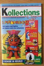 KOLLECTIONS e TOYS N. 14 2001 RIVISTA COLLEZIONISMO 3D SORPRESINE KINDER
