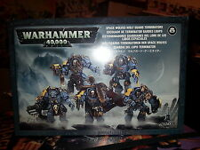 WARHAMMER 40K SPACE WOLVES WOLF GUARD TERMINATORS - NEW & SEALED