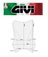 Cupolino trasparente KTM 1290 Super Adventure 650 R/S  2017 2018 D7706ST GIVI