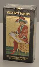 VISCONTI TAROTS 78 CARD VISCONTI-SFORZA TAROT DECK - GOLD FOIL EMBOSSED