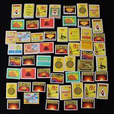 ✿✿✿ Sammlung - 56 Streichholzschachtel aus Indien und Nepal✿✿✿