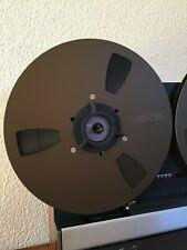 2x REVOX Tape Reel NAB in Bronze / 2x REVOX Tonbandspule Ø26,5cm für REVOX