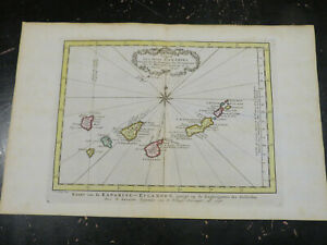 Canary Islands, Spain  -  1773, Harrevelt, Amsterdam, after Bellin