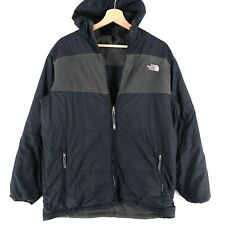 The North Face Teens Boys Men Black Reversible Jacket Size Boys XL 18-20 Years