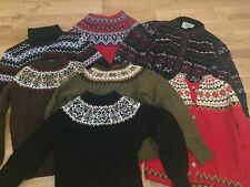 HUGE LOT VTG 60's 70's DRESS TOP JUMPER COAT SUEDE DENIM VELVET FAIRISLE 8 10