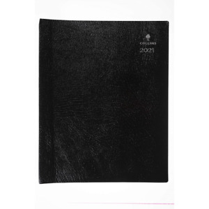 Collins Leadership A4 Day to Page 2021 Diary - Graphite CP6743.99-21