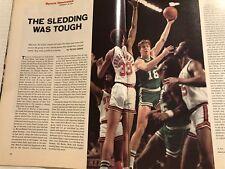 1974 Sports Illustrated BOSTON Celtics JOHN HAVLICEK Dave COWENS Hondo NO LABEL