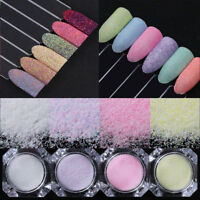 Nail Art Sugar Sandy Glitter Powder Dust Decoration Nail Tips DIY Born Pretty