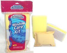 Car PRIDE Kit de cuidado de limpieza de ventanas Incluye Cojín de Esponja Bug palanca de cambios y Desempañador