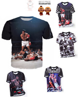 New Mohammed Ali American Boxer Ring Sport T-Shirt Men Women 3D Print S-7XL