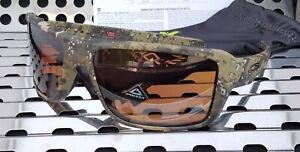 New Oakley DOUBLE EDGE Sunglasses 9380-1266 Desolve Bare Camo/ Prizm Tungsten Po