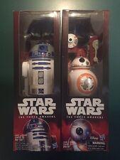 Star Wars BB-8 & R2-D2 Action Figures 12 Inch Hero Series Force Awakens In Hand
