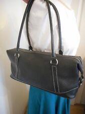 Mulberry Net A Porter Black Scotchgrain Bowling Shoulder Bag + Serial No
