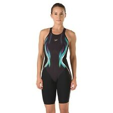 NEW — Limited Edition Womens 22 — Speedo Fastskin LZR Racer X Open Back Kneeskin