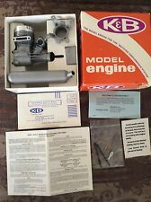 New K&B Vintage Model Engine .45R/C Sportster Engine Boat, Plane, Car P/N 5900