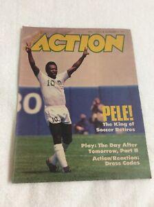 Vintage Scholastic Action Magazine Pele The King Of Soccer Retires 1977