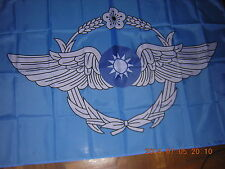 New listing 100% New Reproduced Flag of Republic of China Roc Taiwan Air Forces Ensign 3X5ft