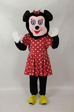Adult Miss Mouse Big Head  Mascot Fancy Dress Costume Ex Hire
