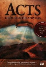 Acts: The Acts of the Apostles (DVD) Visual Bible Book Of Acts Bible Movies DVDs