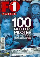 MICHAEL SCHUMACHER_FRANK WILLIAMS_JENSON BUTTON_TOP 100 PILOTES F1 RACING ©TBC